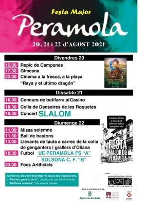 FESTA MAJOR DE PERAMOLA