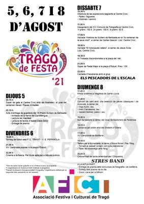 FESTA MAJOR DE TRAGÓ DEL 5 AL 8 D'AGOST