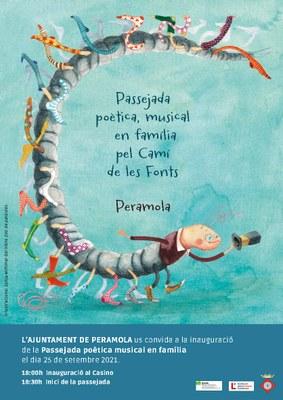 Inauguració: Passejada poètica musical en família pel Camí de les Fonts